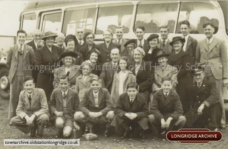 Longridge C of E Annual Trip C.1950