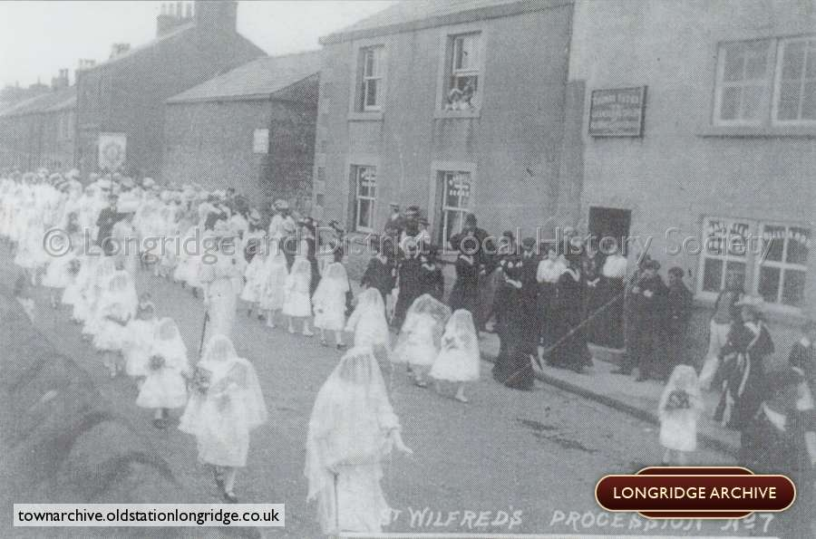 St. Wilfrids Church Procession
