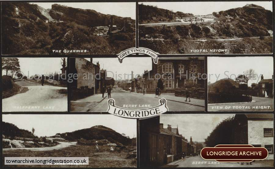 Postcard, Greetings From Longridge