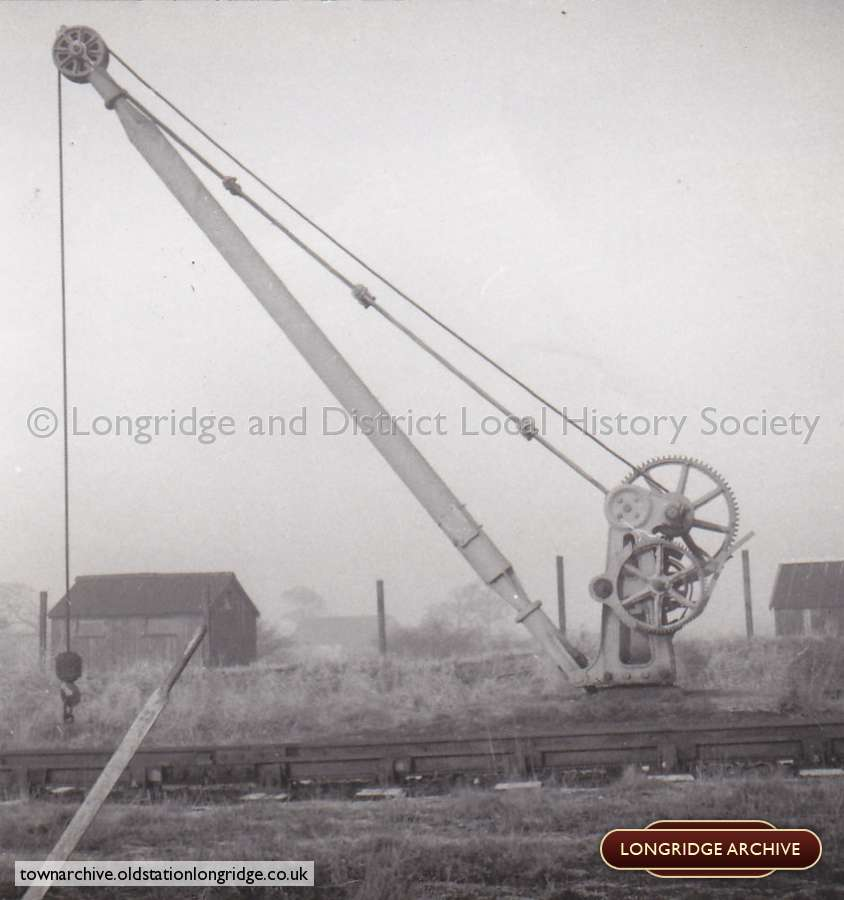 Longridge Railway, Yard Hand Crane
