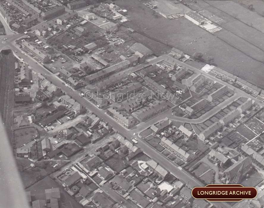 Aerial Photograph, Preston Road (Derby Road)