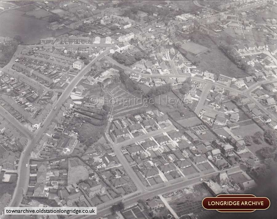 Aerial Photograph, View of Longridge