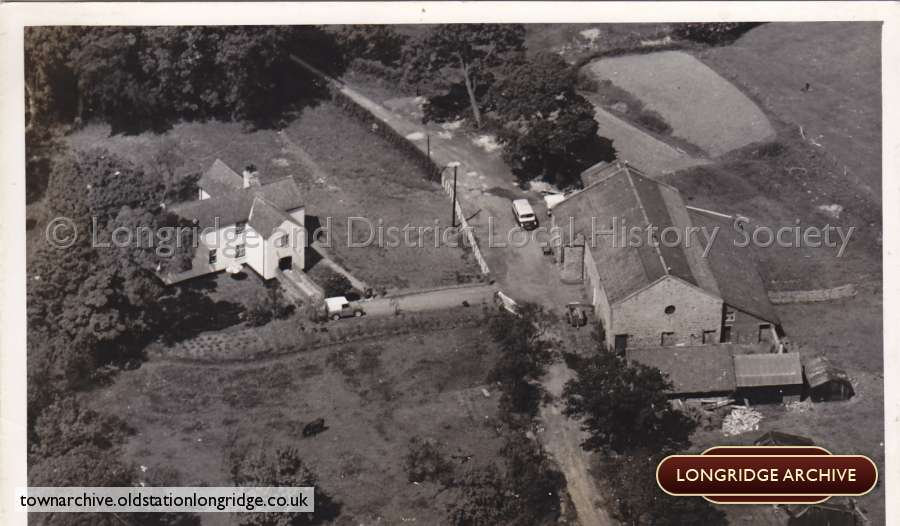 Aerial Photograph, Chingle Hall, Whittingham