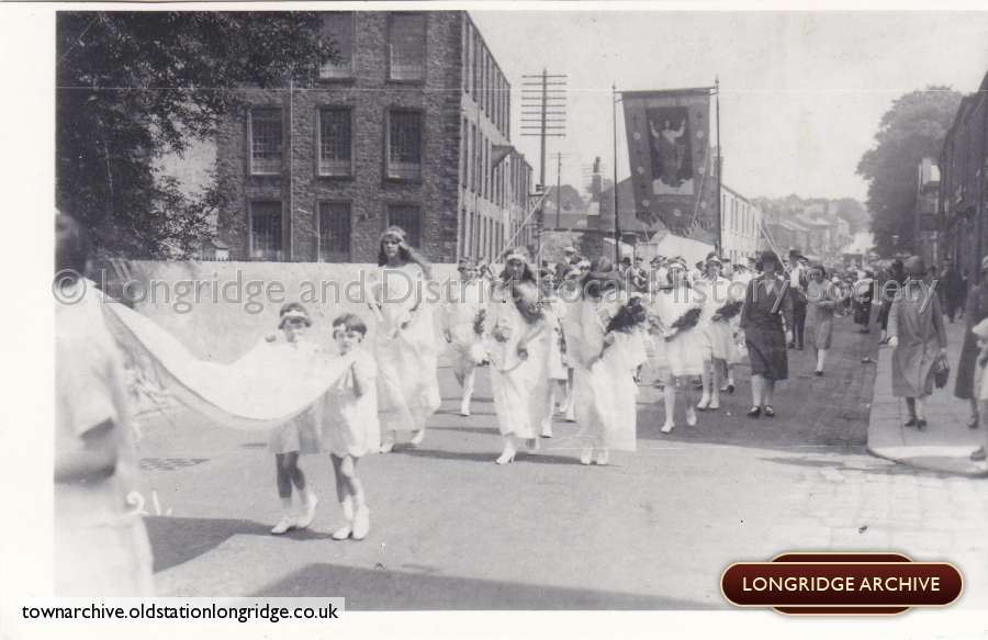 A Church Procession, Berry Lane