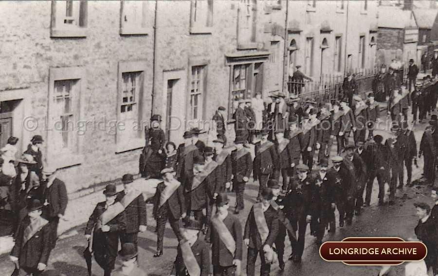 A Procession, Berry Lane