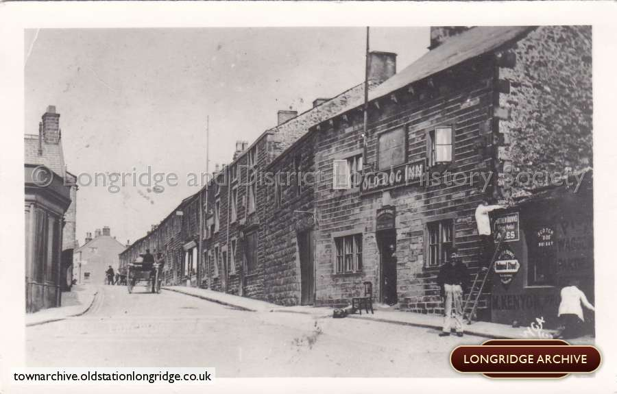 Market Place, And The Old Dog Inn