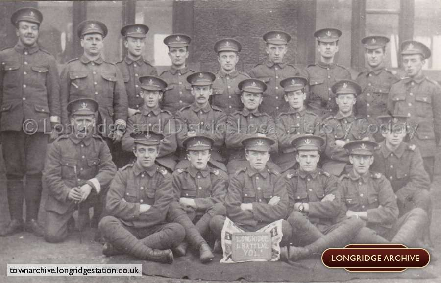The 4th Battalion Of The North Lancashire Regiment