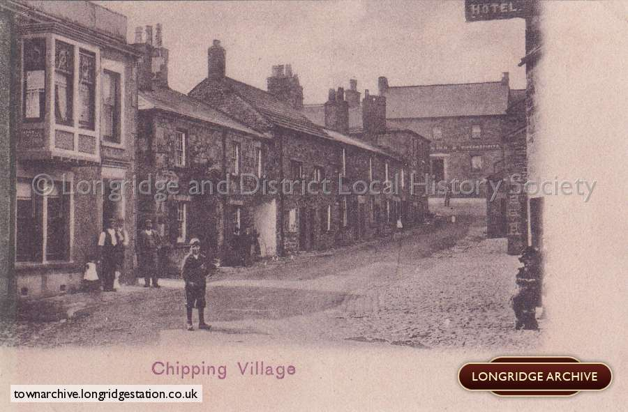 Postcard, Chipping Village- A View