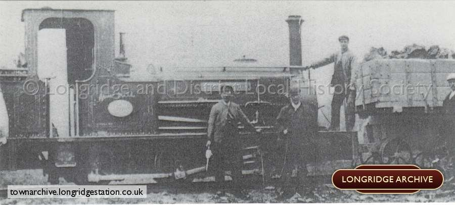 Spade Mill Reservoir, Hunslett Steam Locomotive
