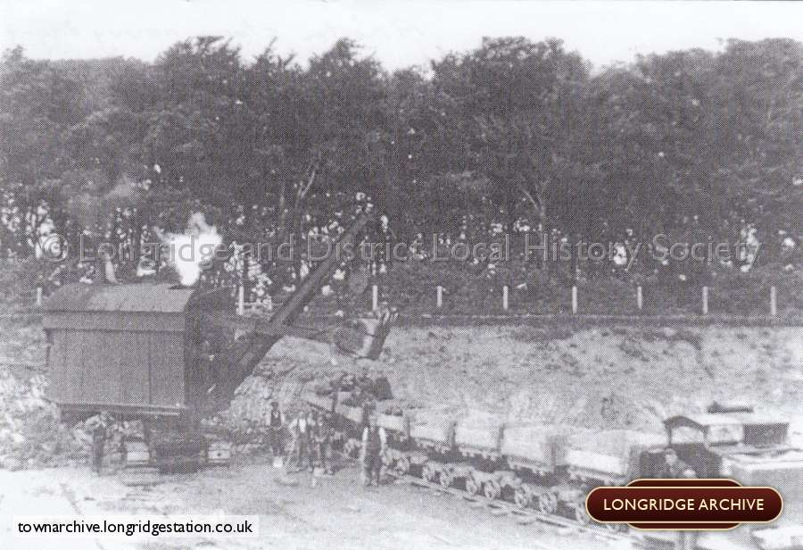 A Ruston Steam Navvy Digging Clay, College Wood