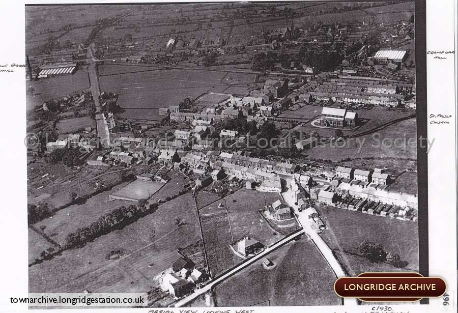 Aerial Photograph,  Longridge