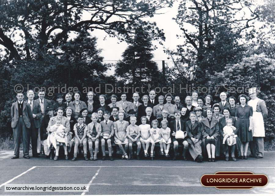 Congregational Church Tennis Club VE Day Celebrations