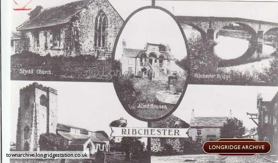 Views Of Ribchester Postcard
