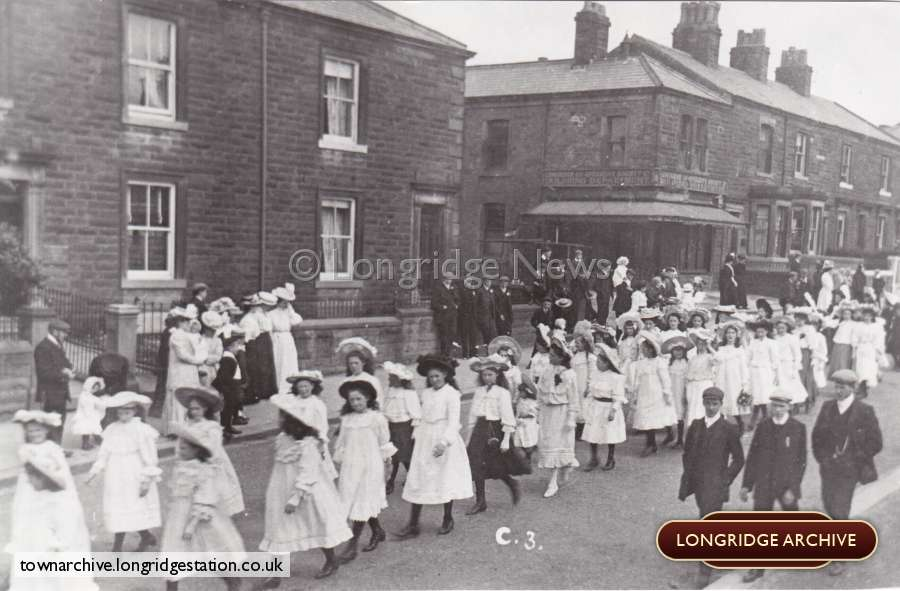 Church Procession, Berry Lane
