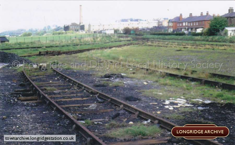 Longridge Railway Goods Yard
