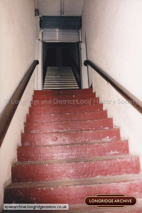Stone Stairs Leading Up To The Second Floor Ballroom
