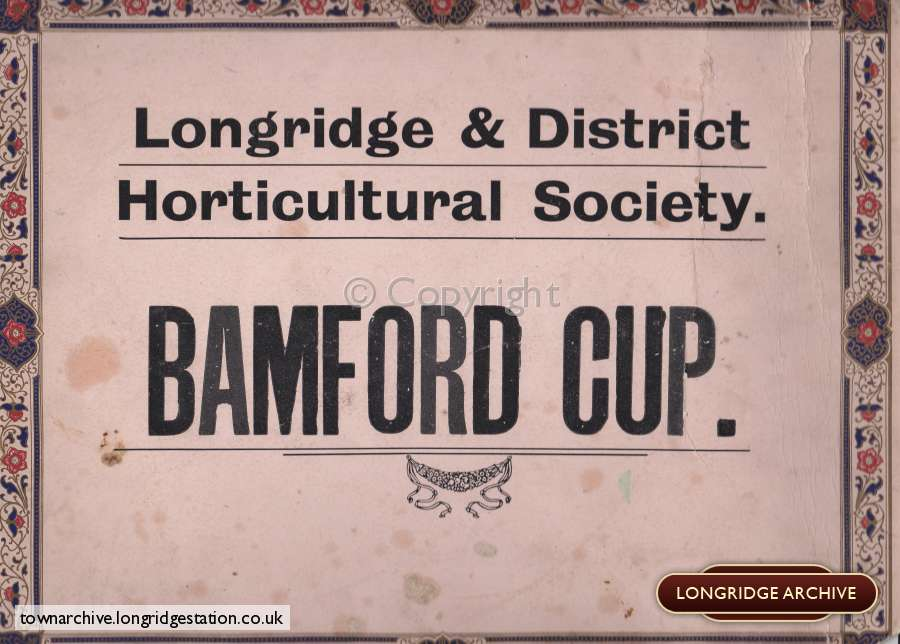 Longridge And District Horticultural Society