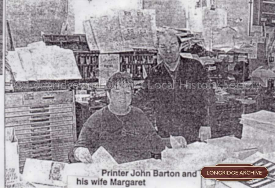 Newspaper Article, New Lease Of Life - John And Margaret Barton