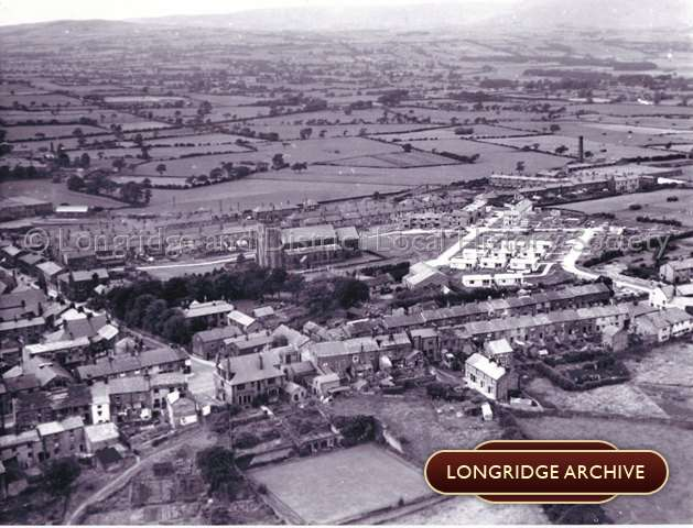 Aerial Photograph, Dog Inn and King Street