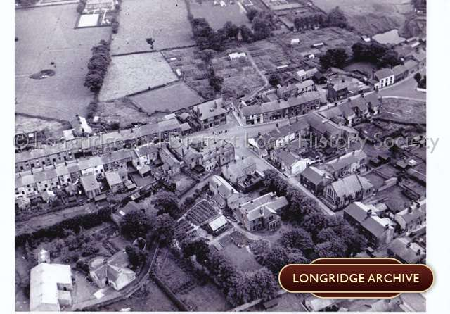 Aerial Photograph, Dog Inn