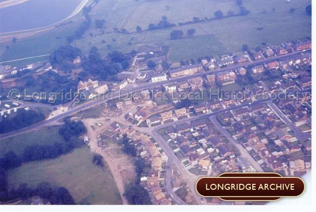 Aerial Photograph, Higher Road and Chaigley Road