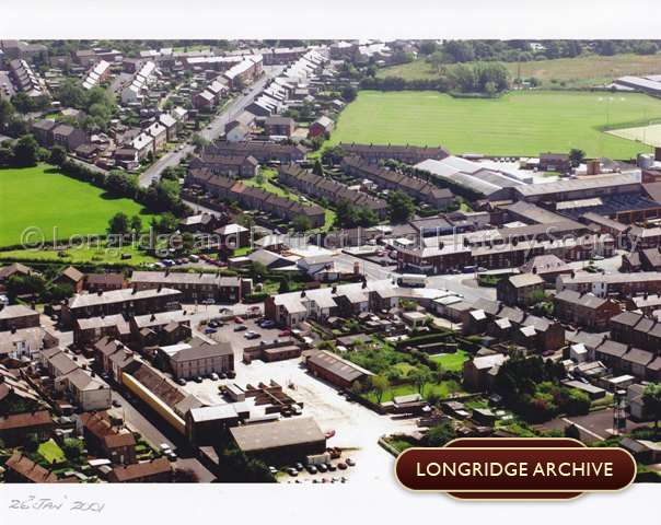 Stone Bridge with Kestor Lane and Whittingham Lane Aerial View