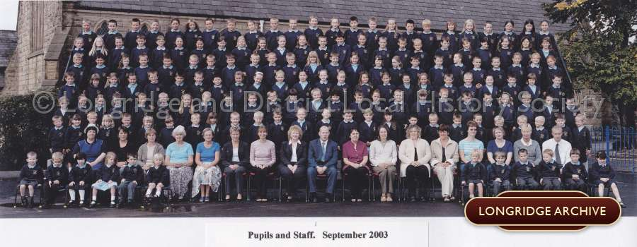 Alston Lane Catholic Primary School, Pupils and Staff Photograph