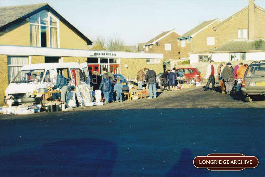 Longridge Civic Hall, Car Boot Sale