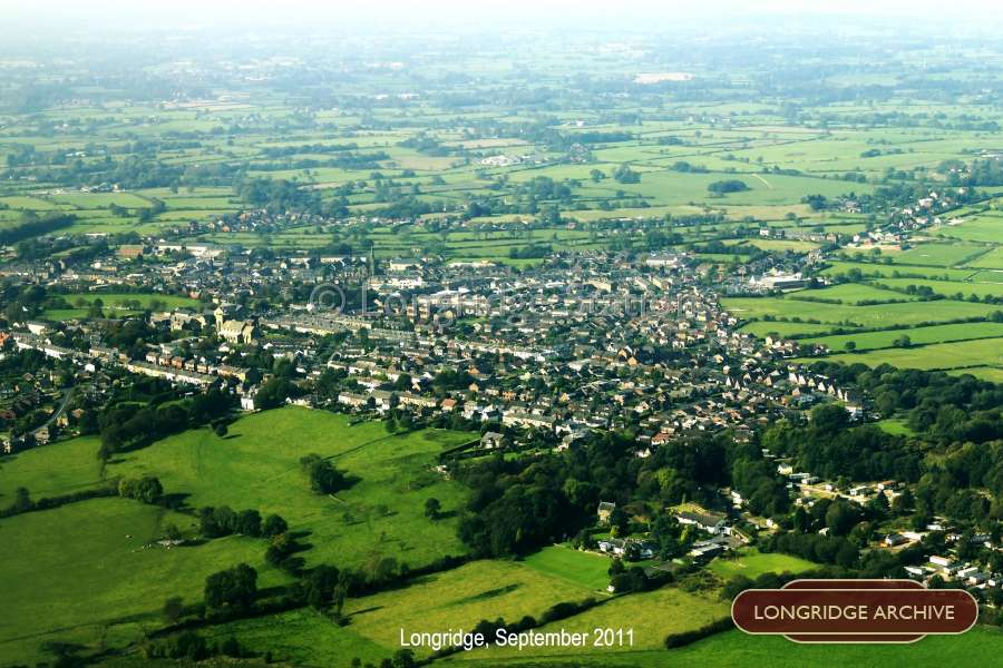 Aerial Photograph of Longridge from East