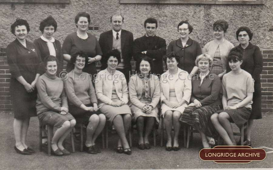 Berry Lane C of E School Staff, 1967